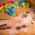 christmas gingerbread dough stock photo © grafvision