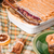 kenyér · puding · házi · készítésű · rusztikus · asztal · kávé - stock fotó © grafvision