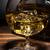 conhaque · vidro · ice · cube · madeira · beber - foto stock © grafvision