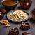 шоколадом · темный · шоколад · текстуры · продовольствие - Сток-фото © grafvision