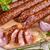 salami · worst · houten · vlees - stockfoto © grafvision