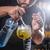 barman · cocktail · shot · hand · glas - stockfoto © grafvision