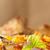 гриль · свинина · Салат · картофельный · салат · зеленый · красный - Сток-фото © grafvision