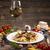 makaronu · ser · żywności · obiedzie · gotowania - zdjęcia stock © grafvision