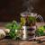 taza · jengibre · taza · de · té · té · limón · frescos - foto stock © grafvision