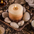 stones and aromatic candles stock photo © grafvision