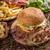 taze · lezzetli · Burger · karanlık · peynir · siyah - stok fotoğraf © grafvision
