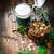 groene · klaver · gelukkig · bier · dag · vakantie - stockfoto © grafvision
