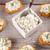 mini · bruschetta · ricotta · legno · alimentare · formaggio - foto d'archivio © grafvision