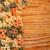 włoski · makaronu · ramki · tekstury · zielone - zdjęcia stock © grafvision