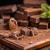 сломанной · домашний · шоколадом · разделочная · доска · продовольствие - Сток-фото © grafvision