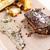 steak · beurre · servi · brocoli · fèves · raifort - photo stock © grafvision