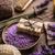 natureza · morta · lavanda · sal · garrafas · sabão · secar - foto stock © grafvision