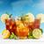 üveg · jegestea · citrom · citrus · menta · izolált - stock fotó © grafvision