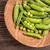 friss · zöld · zöldborsó · nyitva · fa · asztal · mezőgazdaság - stock fotó © grafvision