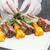 fogas · bárány · gyógynövény · krumpli · vacsora · paradicsom - stock fotó © grafvision