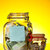 pénz · bögre · adományok · címke · érmék · üveg - stock fotó © grafvision