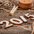 új · év · 2015 · grunge · fából · készült · felirat · új - stock fotó © grafvision