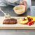 シェフ · 務め · 焼き · 野菜 · 木板 - ストックフォト © grafvision