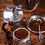 コーヒーカップ · ガラス · 空っぽ · 注文 · 白地 - ストックフォト © grafvision