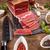 sliced smoked pork meat stock photo © grafvision