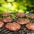 牛肉 · ハンバーガー · まな板 · 肉 · 地上 · ニンニク - ストックフォト © grafvision