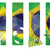 set of brazil concept color banners stock photo © graphit