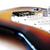 guitare · électrique · détail · vue · pont · bois - photo stock © grasycho