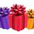 three color gift boxes stock photo © grazvydas