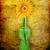 fiore · verde · bottiglia · isolato · bianco · primavera - foto d'archivio © grazvydas