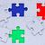 gekleurd · stukken · diversiteit · gelijk · verschillend - stockfoto © grazvydas