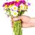 hand giving bouquet of wildflowers stock photo © grazvydas