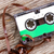 retro audio cassette on the wood background stock photo © grazvydas