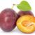fresh plums with leaf stock photo © grazvydas