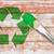 fal · fából · készült · deszkák · festett · zöld · textúra - stock fotó © grazvydas