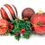 christmas decorations isolated on white background stock photo © Grazvydas