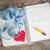 yazılı · notepad · yeni · yıl · şerit · metre · kalp - stok fotoğraf © Grazvydas