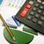 карандашом · финансовых · острый · страница · мнение - Сток-фото © grazvydas