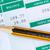 relatório · mensal · salário · lápis · escritório · financeiro - foto stock © Grazvydas
