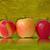 três · maçãs · isolado · branco · maçã · vermelho - foto stock © grazvydas