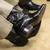 homem · par · botas · preto · couro - foto stock © gregorydean