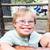 cortar · pequeno · menino · síndrome · sessão · tabela - foto stock © gregorydean
