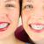 два · молодые · девочек · лицах · Cute - Сток-фото © gregorydean