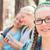 aluna · amigos · três · jovem · juntos - foto stock © gregorydean
