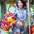 длительной · экспозиции · колесо · неоновых · Scary · справедливой - Сток-фото © gromovataya