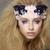 Lace. Closeup Portrait of Stylish Attractive Fashion Model with Modern Makeup stock photo © gromovataya