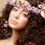 belle · femme · rose · romantique - photo stock © gromovataya