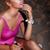 young beautiful fashion woman in depression drinking alcohol stock photo © gromovataya