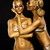 fantasy creativity shiny womens gold gilded bodies arts stock photo © gromovataya