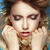 retrato · tenso · mulher · tocante · cabeça · cara - foto stock © gromovataya